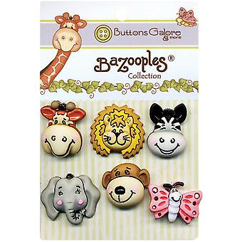 Bazooples Buttons Gertrude & Friends Bz 100