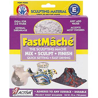 Fastmache Sculpting Mache 2 Pounds Bright White 600A