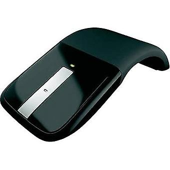 Wireless mouse Optical Microsoft Touch surface Black