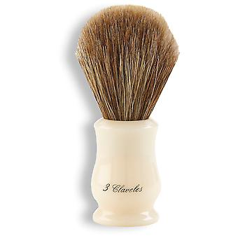 3 Claveles Shaving Brush Horse Methacrylate (Man , Shaving , Brushes)