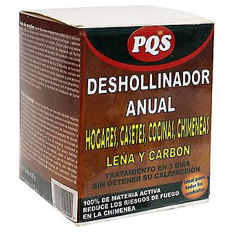 PQS Annual Pqs wood and charcoal chimney sweep 3x250 G (Garden , Barbecues , Cleaning)