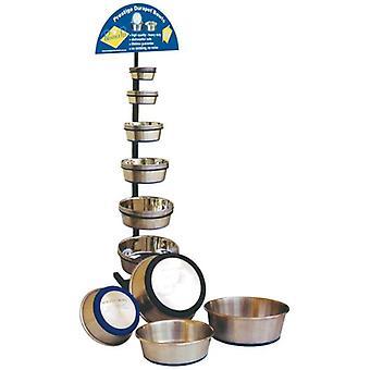 الفولاذ المقاوم للصدأ وعاء الكلب دورابيت ل 1.1