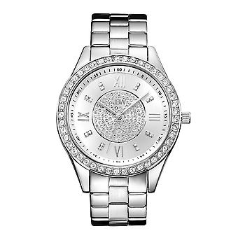 JBW diamond ladies stainless steel watch MONDRIAN - silver