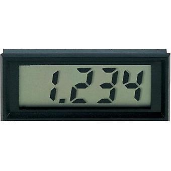 VOLTCRAFT 70004 LCD-panel-meter 70004 ±199.9 mV Assembly dimensions 60 x 24 mm