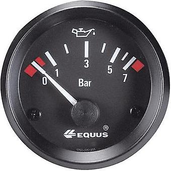 Equus Oil Pressure Gauge 0 - 7 Bar 12V