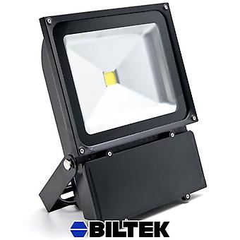 Biltek® 100W LED Flood Light Cool White High Power Outdoor Spotlight Industrial Lighting Home Security Lighting Outdoor House Business Surveillance Safety Wall Washer High Building Billboard Garden