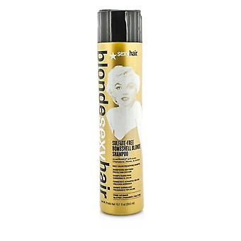 Sexy Hair begreber blond Sexy Hair sulfat-fri bombe Blonde Shampoo (daglig farve bevare) 300ml / 10.1 oz