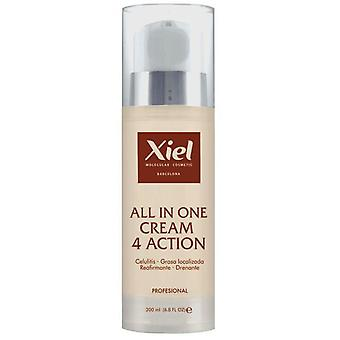 Xiel All In One Cream 4 Action (Woman , Cosmetics , Body Care , Anti-cellulite)