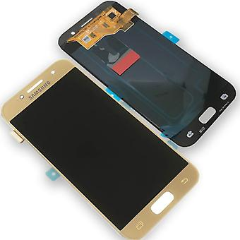 Display LCD complete set GH97-19732 B gold for Samsung Galaxy A3 A320F 2017