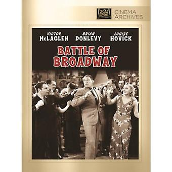 Battle of Broadway [DVD] USA import
