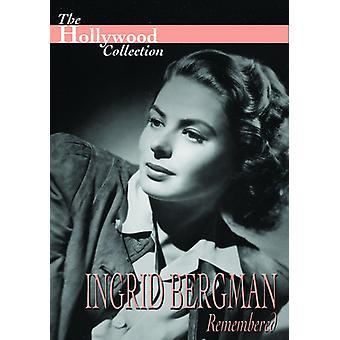 Ingrid Bergman huskede [DVD] USA importerer