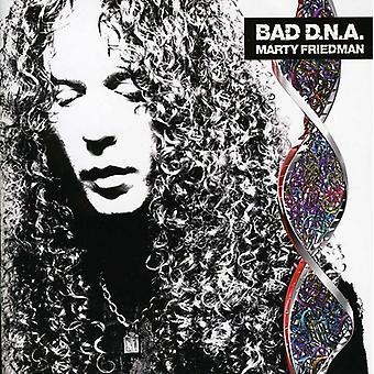 Marty Friedman - dårlig DNA [CD] USA importerer