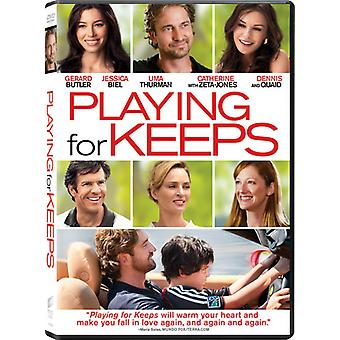 Playing for Keeps [DVD] USA import