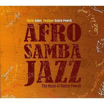 Mario Adnet & Philippe Baden Powell - Afrosambajazz: The musik af Baden Powell [CD] USA importerer