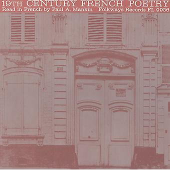 Paul a. Mankin - 19th Century franska poesi: Läs på franska av Paul [CD] USA import