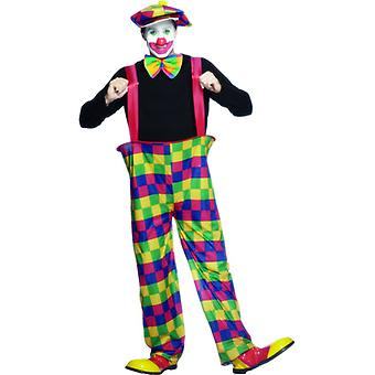 Giant pants clown costume clown circus costume