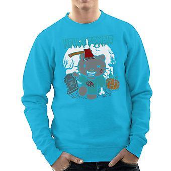 Hello Zombie Kitty Men's Sweatshirt