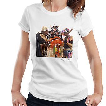 Afrika Bambaataa i Soulsonic życie kobiet T-Shirt