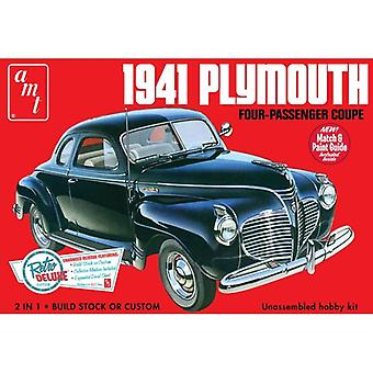 AMT Model Kit - 1941 Plymouth Coupe Car - 1:25 Scale - AMT919 - New