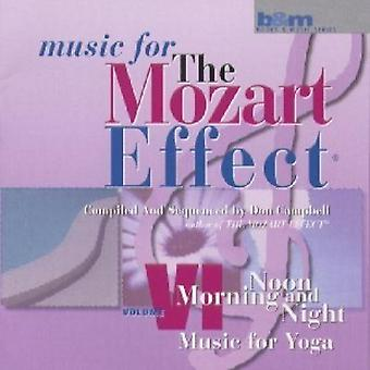 Don Campbell - Mozart effekten: Musik til Yoga (morgen, middag og aften) [CD] USA import