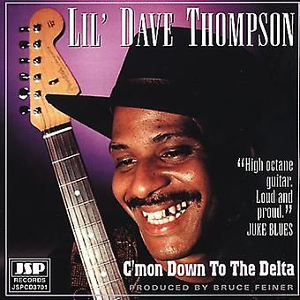Lil' Dave Thompson - C'Mon Down to the Delta [CD] USA import