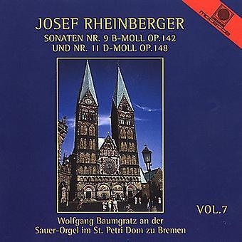 Josef Rheinberger - Rheinberger: Orgelmusik, Vol. 7 [CD] USA import