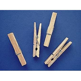 24 Standard Wooden Pegs For Crafts | Wooden Shapes for Crafts