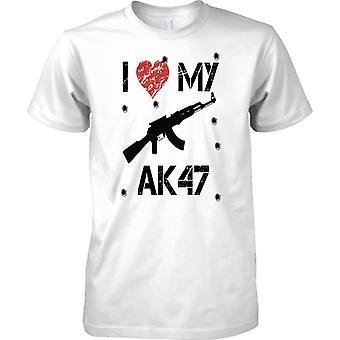 Ich liebe mein AK47 - Spieler inspirierte Arcade-Shooter - Kinder T Shirt