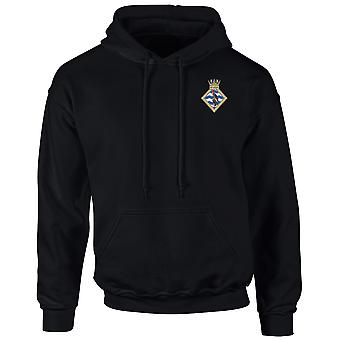 HMS Seahawk Embroidered Logo - Official Royal Navy Hoodie