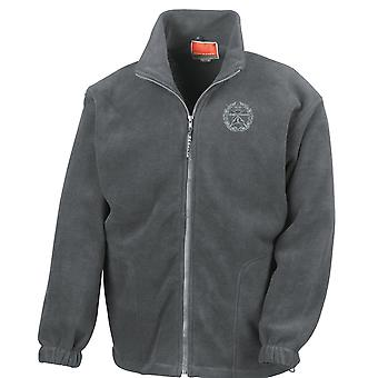 Small Arms School Embroidered Logo - Official British Army Full Zip Fleece