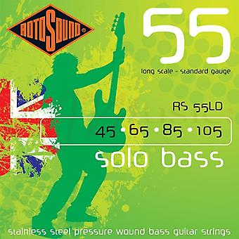 Rotosound Solo Bass 55 Bass Strings