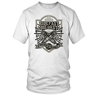 Corsa veloce Die Ultima - Motorcycle Biker Mens T-Shirt