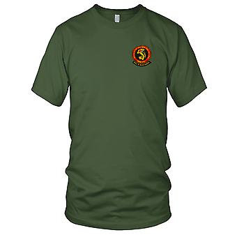 USMC Marines HMM-262 - MAG 36 Billy Bastards - Military Vietnam War Embroidered Patch - Mens T Shirt