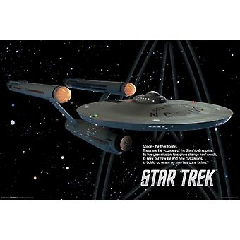 Star Trek - Starship Enterprise Poster Poster Print
