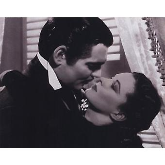 Gone with the Wind - Be Kissed Poster Poster Print