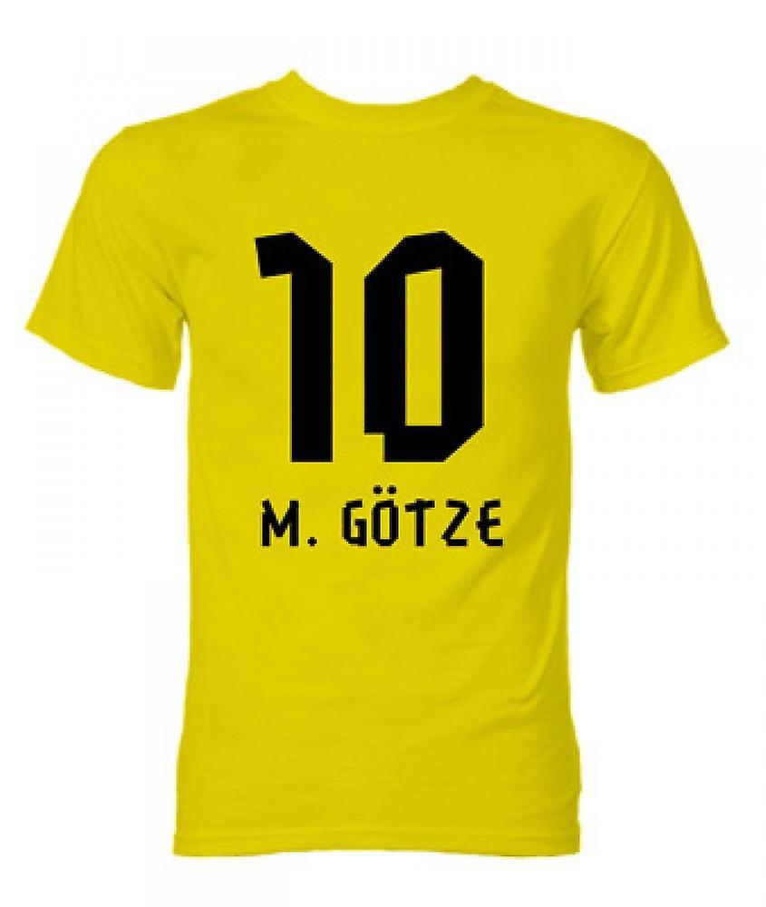 Mario Gotze Borussia Dortmund camiseta de héroe (amarillo)