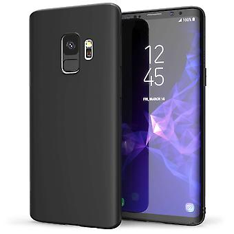 Samsung Galaxy S9 Matte TPU Gel - Solid Black