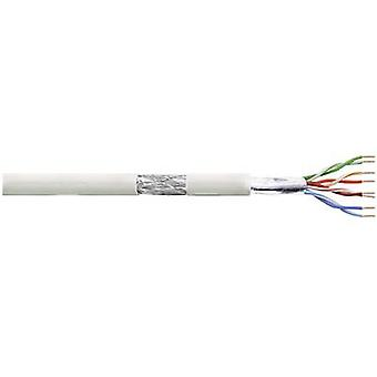 Network cable CAT 5e SF/UTP 4 x 2 x 0.13 mm² Grey