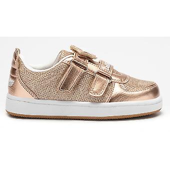 Lelli Kelly Colourissima Gold Glitter Change Strap Trainers With Free Lelli Kelly Pens & Gift