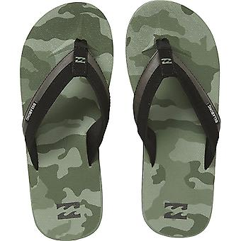 Billabong alle dag indvirkning Print lærred sandaler