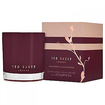 Red Baker Pink Pepper and Cedarwood Scented Candle