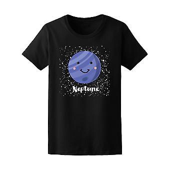 Kawaii spazio Nettuno pianeta Tee - immagine di Shutterstock