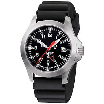 KHS horloges mens watch peloton GMT LDR KHS. PGLDR. DB