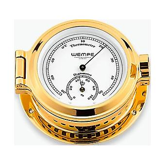 Wempe chronometer works nautical portholes Thermo- / hygrometer CW100005