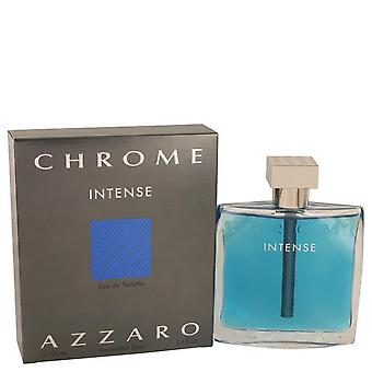 Chrome Intense Eau De Toilette Spray By Azzaro
