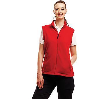 Regatta dames Micro Fleece Bodywarmer Gilet TRA802 rood