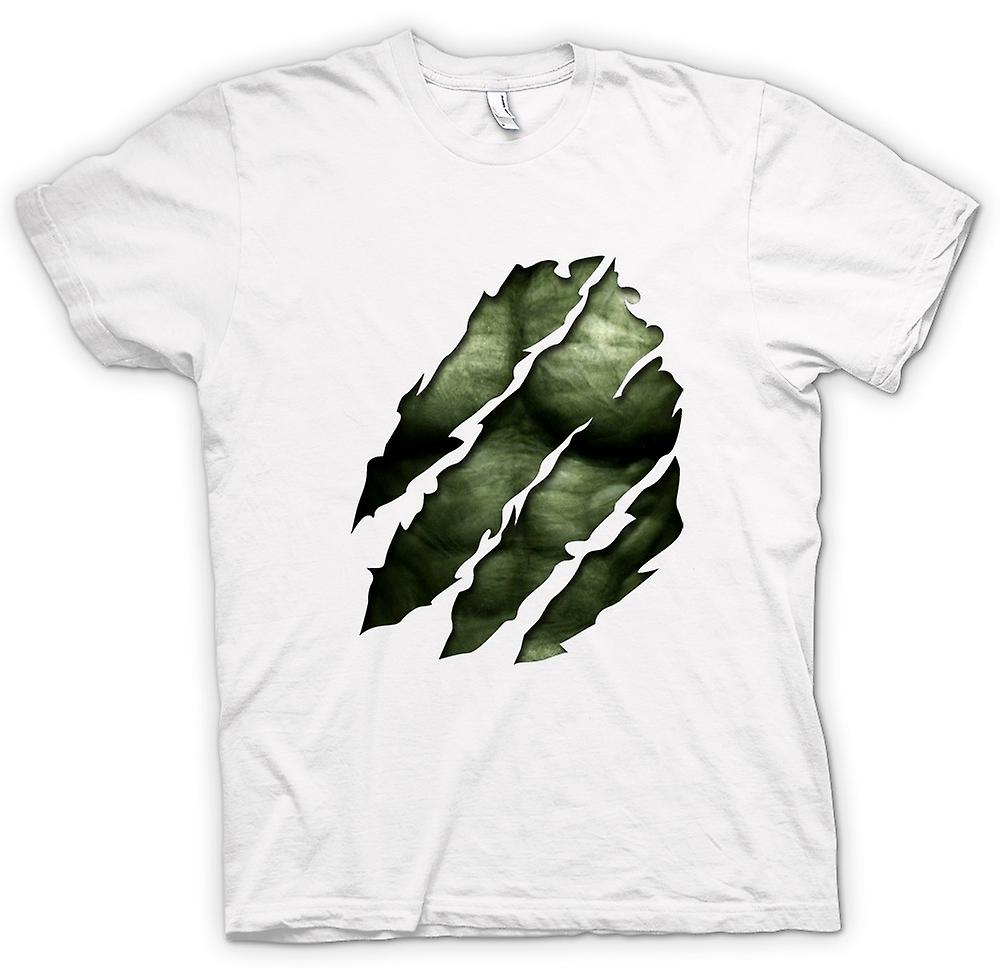 Womens T-shirt - The Hulk - Ripped Effect
