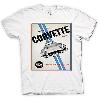 Mens T-shirt - Chevy Corvette Sports - Car