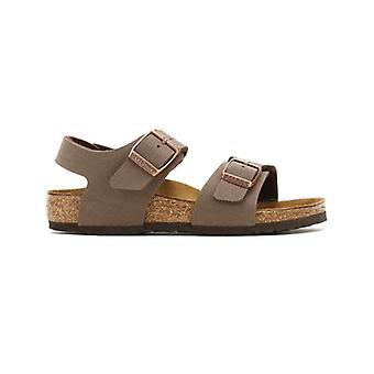 Birkenstock Kids Mocha New York Birko-Flor Sandals