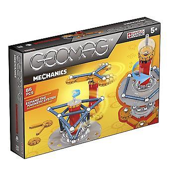 Geomag mekanikk magnetiske Construction Set 86-brikke multi-farge